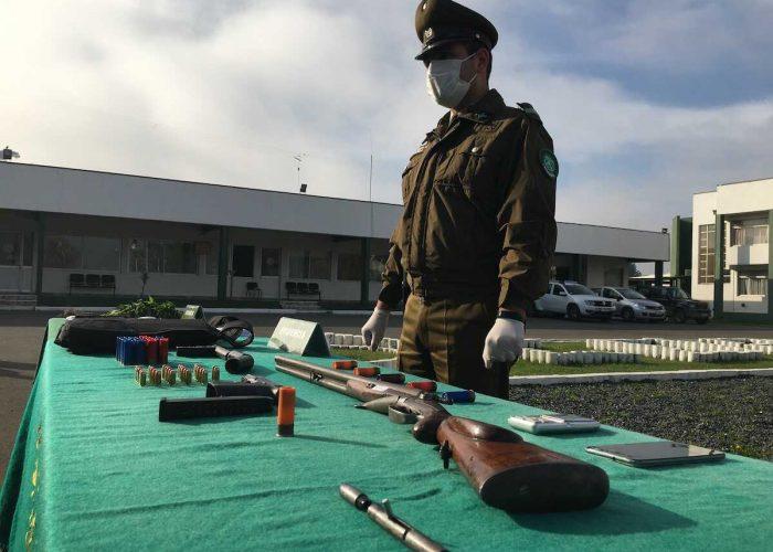 Intervención masiva de OS-7 en Lota permite detener a 13 personas como parte de un clan familiar dedicado al tráfico de drogas