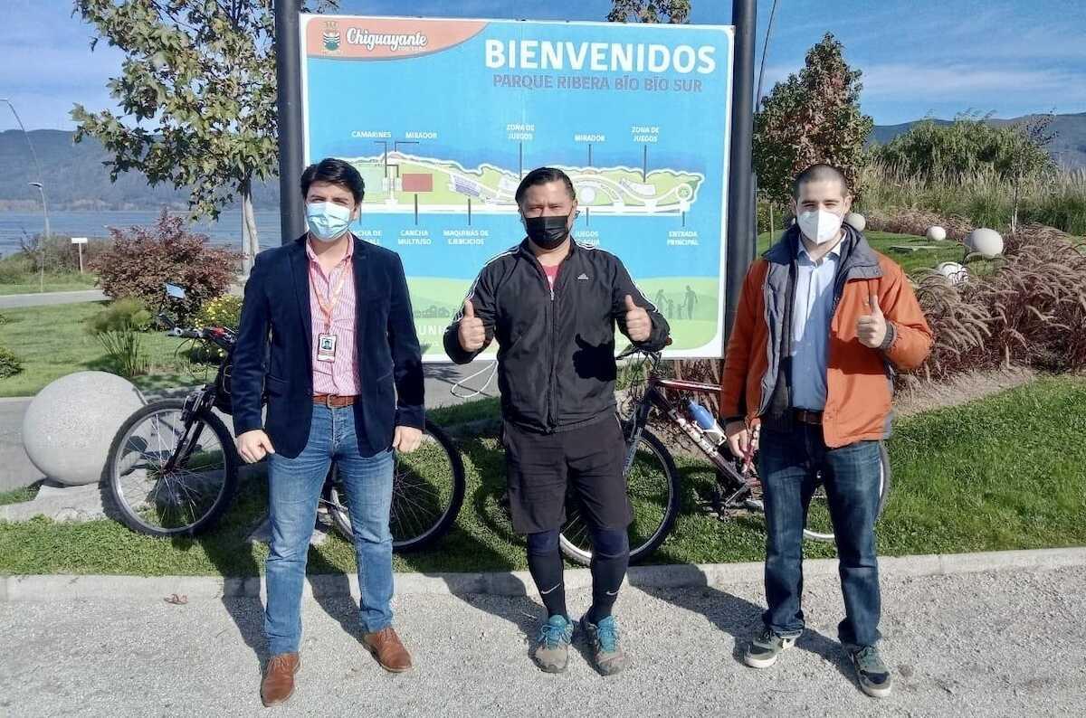 Parque Ribera Biobío abrirá en horario permitido por la autoridad sanitariapara realizar actividad física durante pandemia