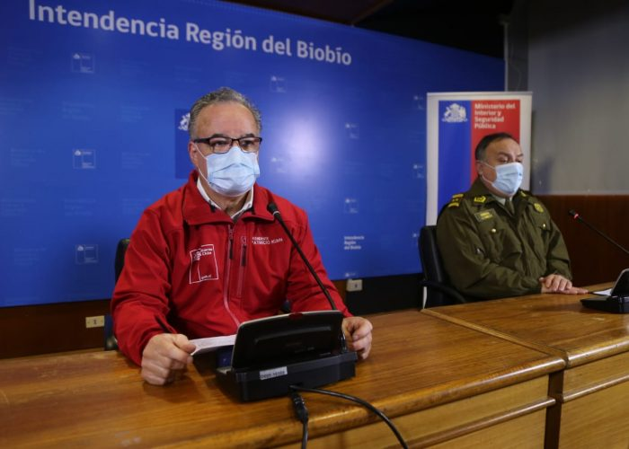 Bajan detenidos por poner en riesgo la salud pública y las fiestas clandestinas en Biobío
