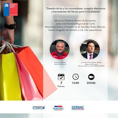 Seremi de Economía y Sernac dictarán charla virtual sobre venta digital: derechos y deberes del consumidor