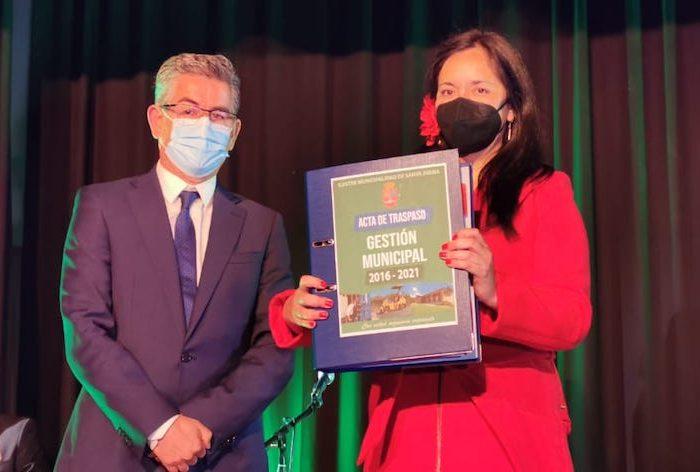 Ana Albornoz es la nueva alcaldesa de la comuna de Santa Juana
