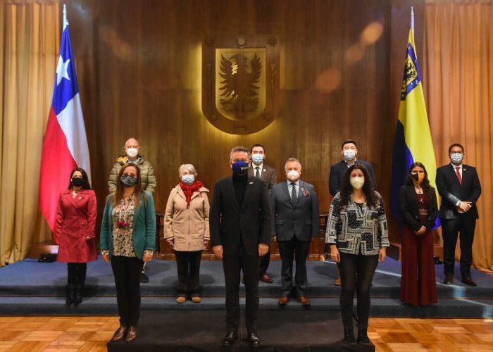 Asume sus funciones el nuevo Concejo Municipal de Concepción periodo 2021–2024