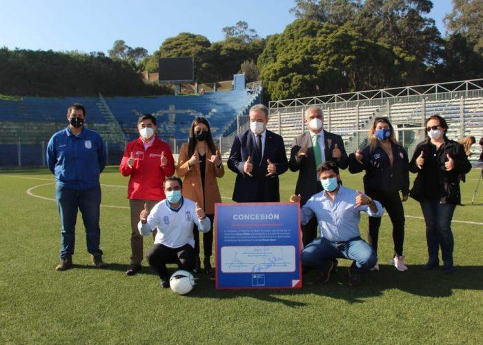 Municipalidad de Talcahuano mantiene administración del estadio El Morro por cinco años más
