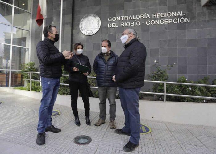 Asociación de Funcionarios del GORE Biobío le comparte a Rodrigo Díaz solicitud de pronunciamiento de Contraloría  por uso de espacios del Gobierno Regional