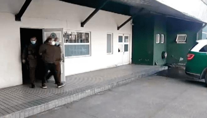 Carabineros de O.S.9. detienen a presunto autor de robo a víctima en pleno desplazamiento por Puente Chacabuco