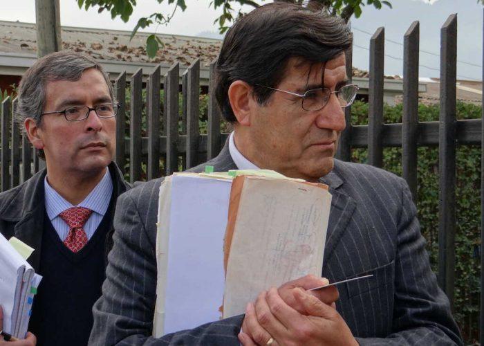 Ministro en visita Carlos Aldana realiza diligencias en causas de DDHH en Chillán y Santa Bárbara