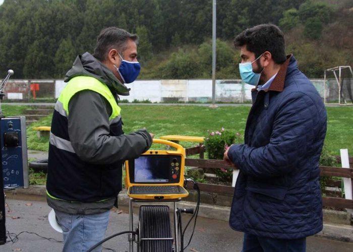 Municipio de Talcahuano y Essbio iniciaron Plan de Invierno 2021 con limpieza de alcantarillado