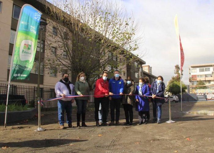 Millonaria intervención urbana marca inicio de recuperación en sector Remodelación Paicaví