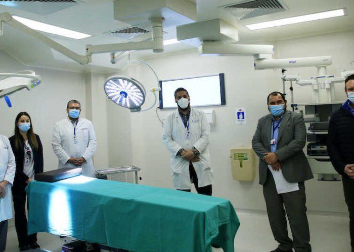 Nuevo pabellón de otorrinolaringología permitirá bajar listas de esperas a pacientes del Hospital Regional
