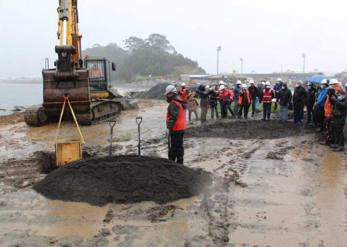 Con inversión de M$4.259.860 inician obras de mejoramiento del borde costero de Talcahuano