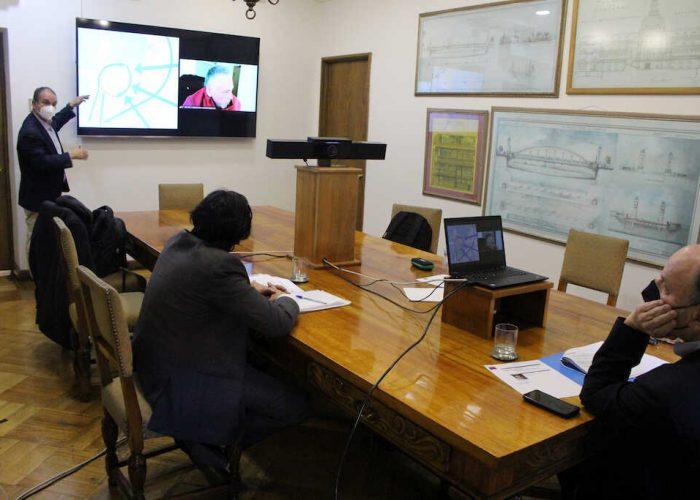 Gobernador Díaz y ministro MOP acuerdan trabajo en conjunto para nuevos proyectos en la Región del Biobío