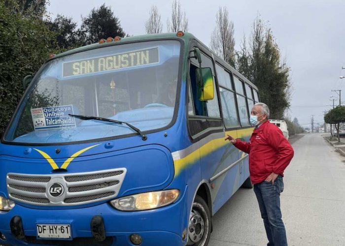 92 servicios gratuitos de transporte público tendrá la Región del Biobío para este domingo de Primarias