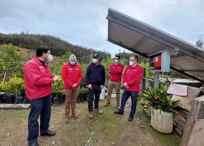 Gobierno incentiva la implementación del plan contra la sequía en la región del Biobío