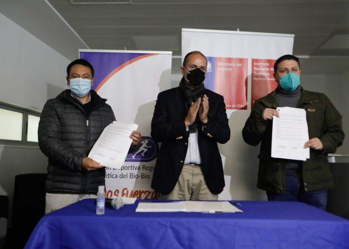 Tenis y atletismo internacional vuelven a Concepción con apoyo del GORE