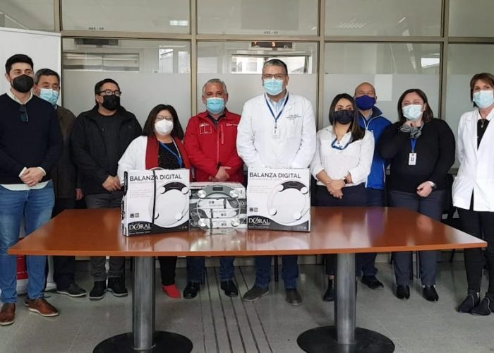 Seremi de Economía intercedió para que Asociación de Empresas Asem Biobío entregara donación a Hospital GGB