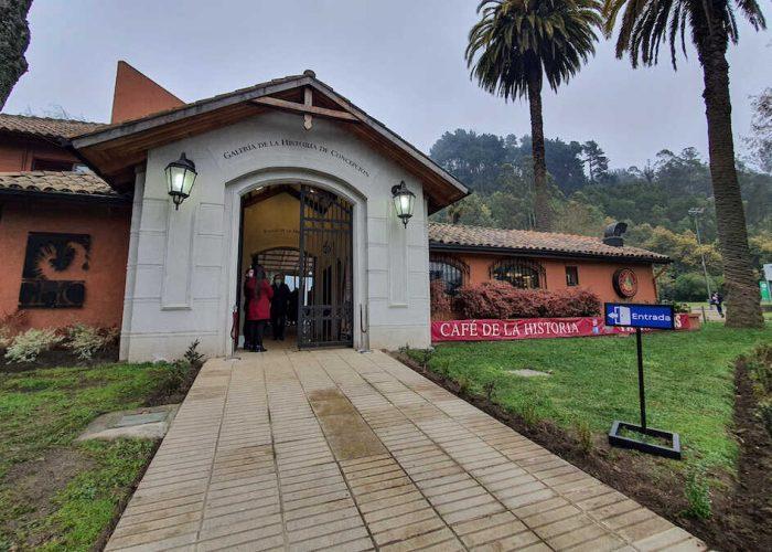 Con nuevos proyectos de infraestructura y nutrida agenda reabre Galería de la Historia de Concepción