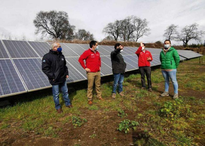 Gobierno destaca la incorporación de energías renovables en el sector agrícola para el Biobío