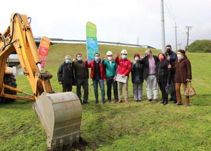 Comienza construcción de corredor de transporte público en Medio Camino