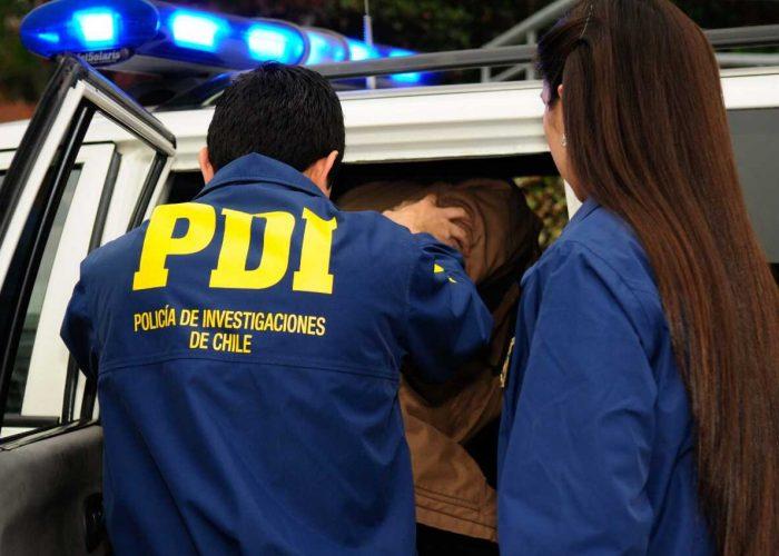PDI de Concepción detuvo a hombre de 25 años por parricidio en Talcahuano