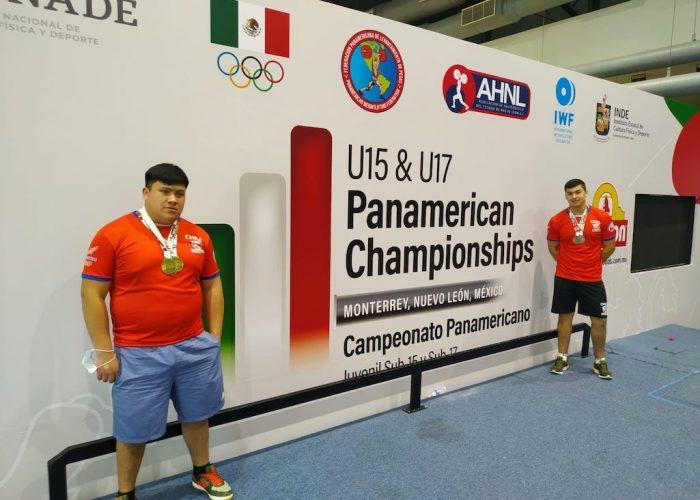 Halterofilia de Curanilahue se llenó de medallas en Panamericano U17
