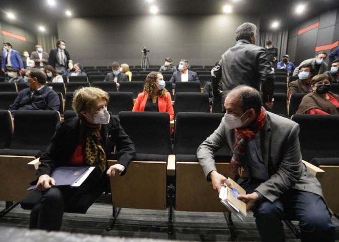 Reinauguran Teatro Dante con apoyo del GORE Biobío