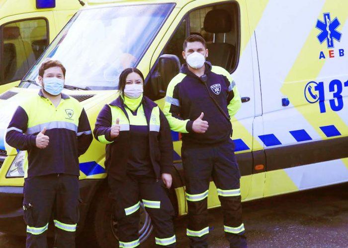 SS Concepción resalta labor de su primera conductora de ambulancia SAMU