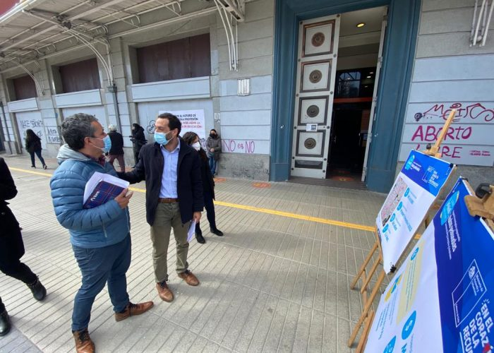 $5.430.000.000 suma inversión en rutas peatonales a implementarse en Concepción, San Pedro de la Paz y Talcahuano