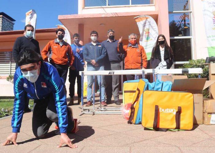 Polo de atletismo Promesas Chile se instala en Chiguayante