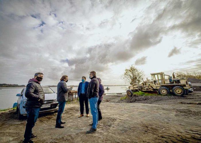 Municipalidad de San Pedro de la Paz clausuró dos areneras por no contar con permisos