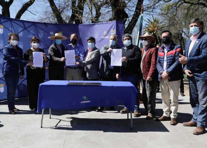 Importantes convenios por más de $4.800 millones firma el Gobierno Regional con 7 comunas de la Provincia de Biobío