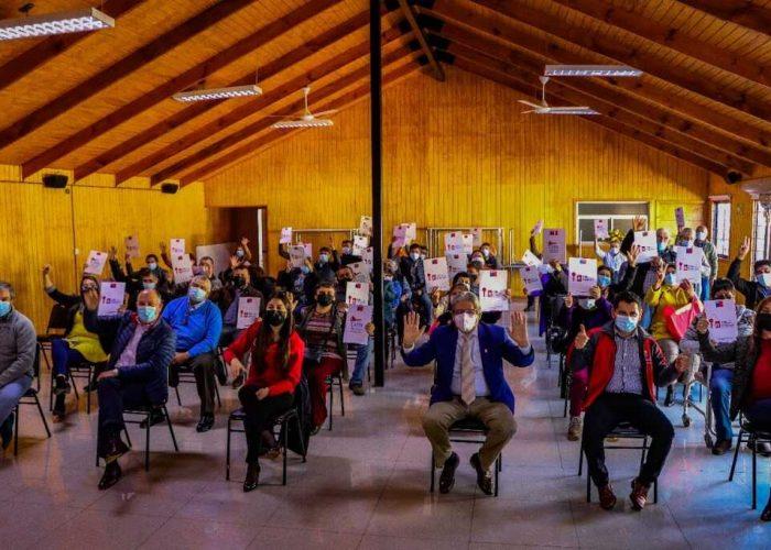 45 familias floridanas adquieren sus títulos de dominio en una nueva entrega del programa Chile Propietario