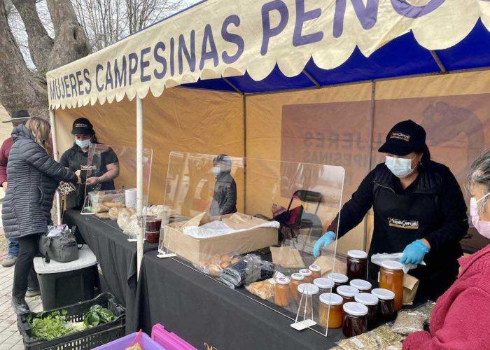 Exitosa reactivación de Mercado Campesino de Indap en Penco