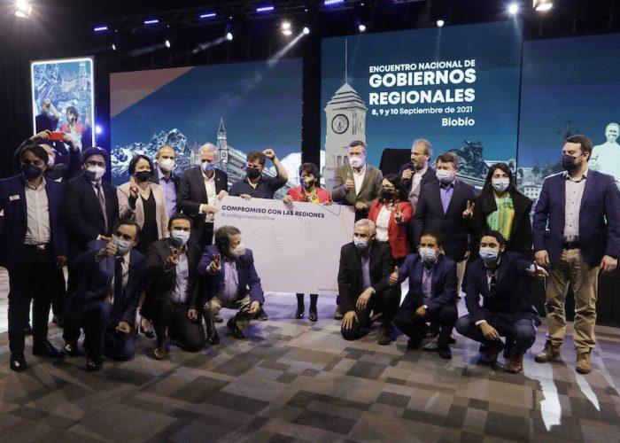 """""""Declaración de Concepción"""" marca fin de primer Encuentro Nacional de Gobiernos Regionales realizado en la capital penquista"""