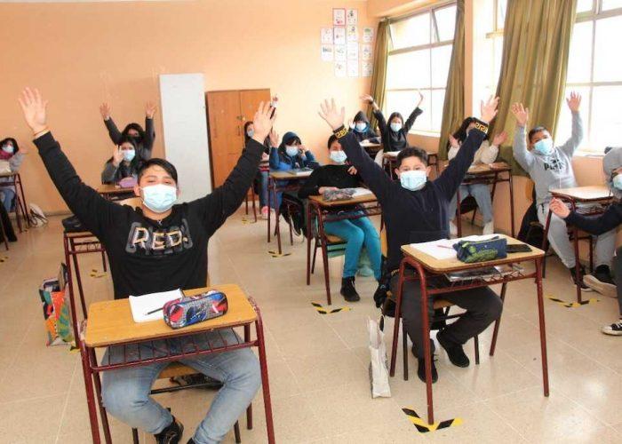 Talcahuano concreta retorno presencial a clases con alumnos de 7mo y 8vo