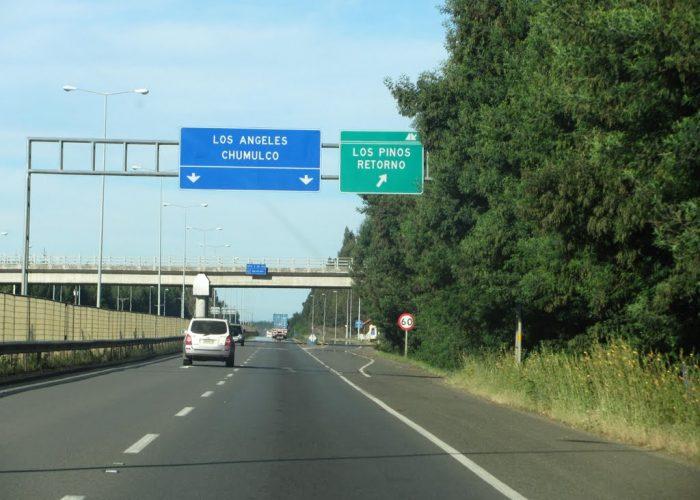 Juzgado de Mulchén ordena prisión preventiva de imputados por robo con intimidación de camión en Ruta 5 Sur