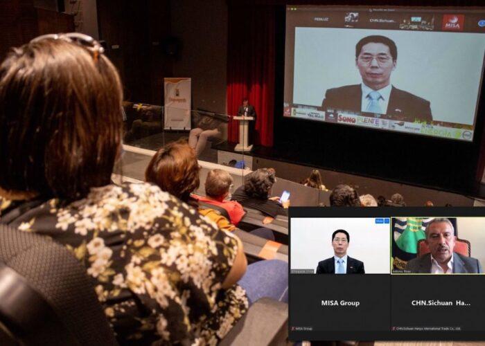 China y Chiguayante estrechan vínculos diplomáticos para avanzar en acuerdos de colaboración