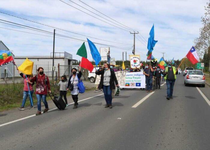 Sustentabilidad agrícola e industrial y manejo de residuos marcaron primera marcha por el medio ambiente realizada en Tucapel