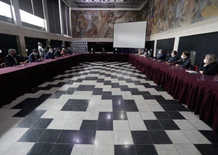 Gobernador y alcaldes de la Región del Biobío critican desinformación desde La Moneda por decreto de Estado de Emergencia
