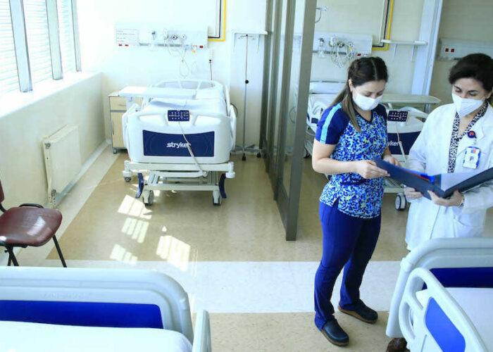 Hospital Traumatológico de Concepción da de alta a últimos pacientes contagiados de covid-19