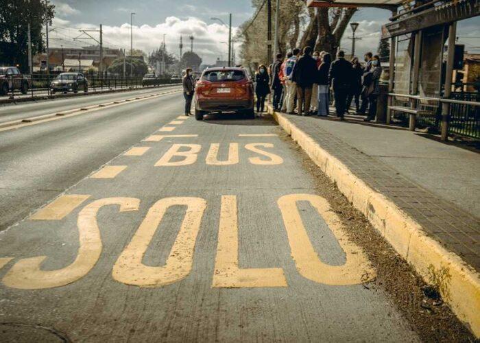 """Alcalde por prohibición de uso de corredor de buses en San Pedro de la Paz: """"Hacer un experimento en nuestra comuna es un despropósito"""""""